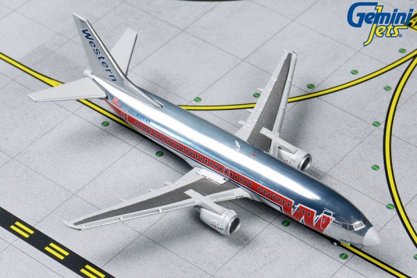 Boeing 737-300 Western Airlines Scale 1/400