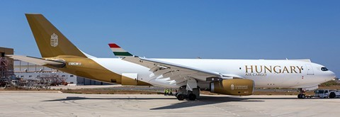 Airbus A330-200F Hungary Air Cargo HA-LHU Scale 1/400 #