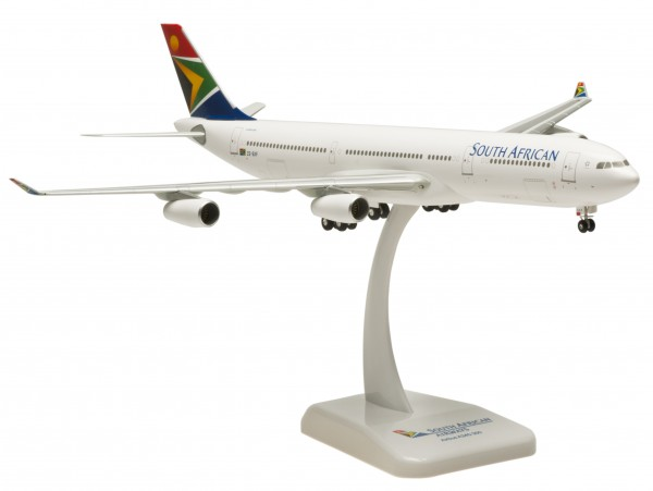 Airbus A340-300 South African Airways Scale 1:200
