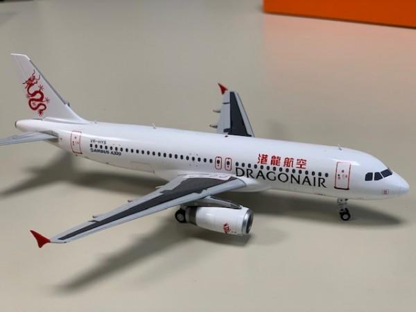 Airbus A320 Dragonair VR-HYS Scale 1/200