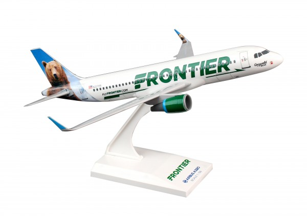 Airbus A320 Frontier Grizwald bear Scale 1/150