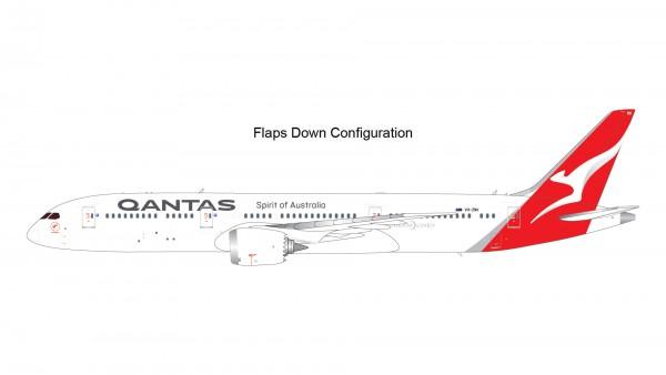 Boeing 787-9 Dreamliner Qantas Airways Flaps Down Version VH-ZNK Scale 1/200