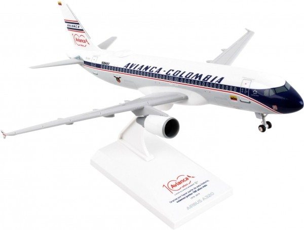 "Airbus A320 Avianca ""Retro Livery"" Scale 1/150"