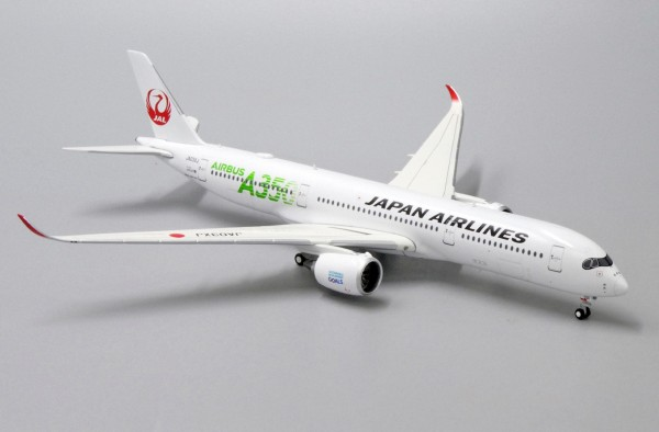 Airbus A350-900XWB Japan Airlines (JAL Green) JA03XJ Scale 1/400