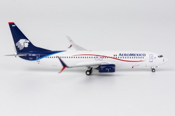Boeing 737-800 Aeroméxico with scimitar winglets XA-AMA Scale 1/400