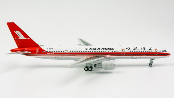"""Boeing 757-200 Shanghai Airlines """"the last 757 built"""" B-2876 Scale 1/400"""