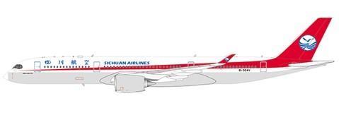 Airbus A350-900XWB Sichuan Airlines B-304V Scale 1/400