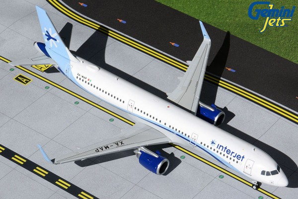 Airbus A321neo Interjet XA-MAP Scale 1/200