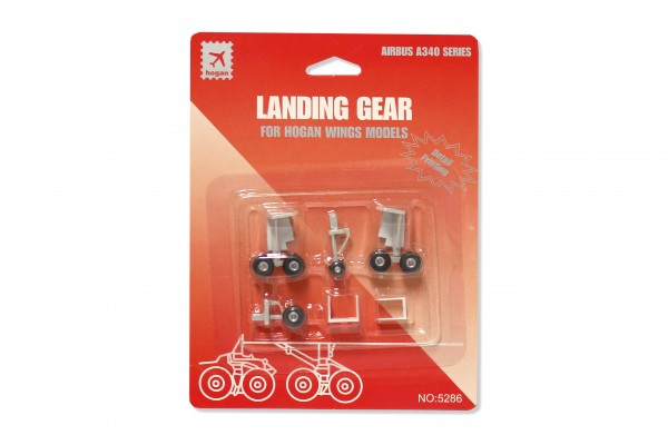 Fahrwerk / Landing gear A340-200/300 Series for Hogan Wings Models