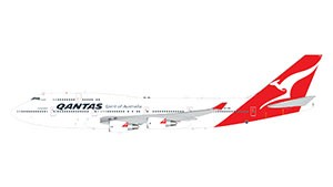 "Boeing 747-400 Qantas Airways ""Longreach Hervey Bay"" Scale 1/400"