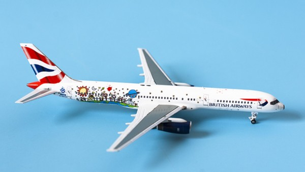 """Boeing 757-200 British Airways """"Blue Peter color"""" G-CPEM Scale 1/400"""