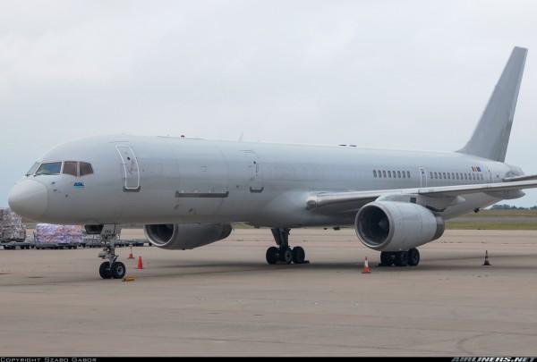 Boeing 757-200SF ASL Airlines Belgium OO-TFA Scale 1/400
