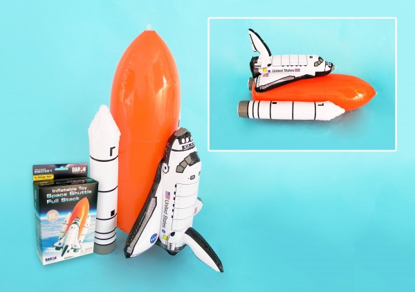 Space Shuttle Full stack aufblasbar/inflatable 65cm