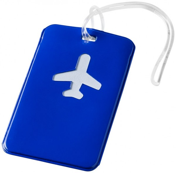 Kofferanhänger Voyage blau / Luggage Tag Voyage blue