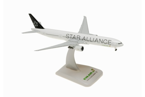 "Boeing 777-300ER Eva Air ""Star Alliance"" B-16701 Scale 1:500"