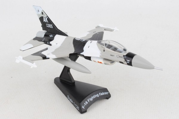 POSTAGE STAMP General Dynamics F-16 Fighting Falcon Thunderbirds AK305 AF86 Scale 1/126
