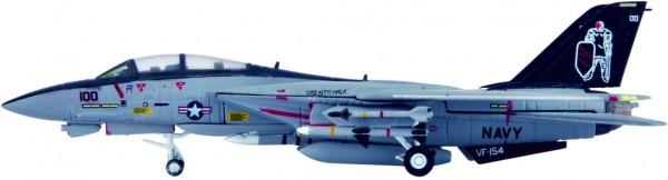 "Grumman F-14A Tomcat US Navy VF-154 ""Black Knights"", CVW-5, CV-62, USS Independence Scale 1/200"