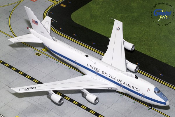 Boeing E-4B United States Air Force (USAF) 73-1676 Scale 1/200