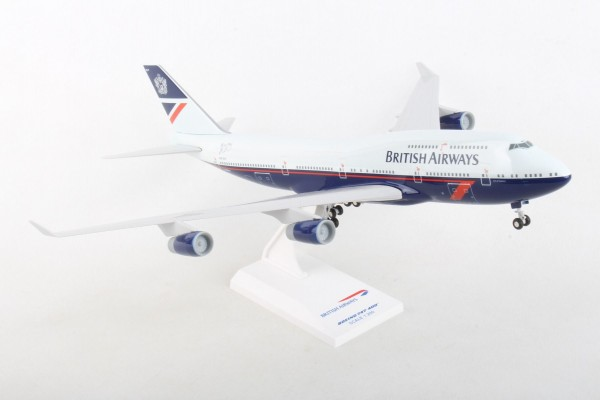 "Boeing 747-400 British Airways ""Landor Livery"" Scale 1/200 w/G"