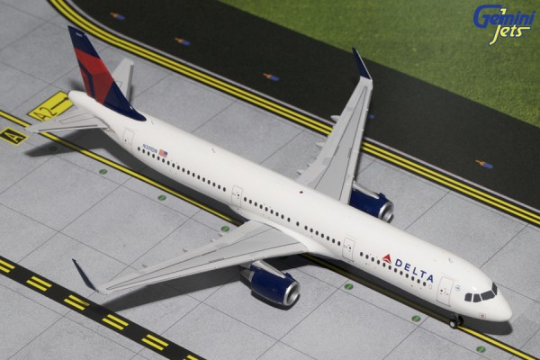 Airbus A321 Delta Air Lines Scale 1/200