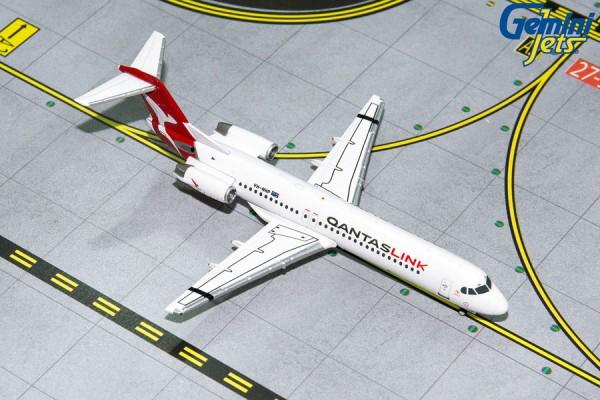 Fokker 100 QantasLink Scale 1/400