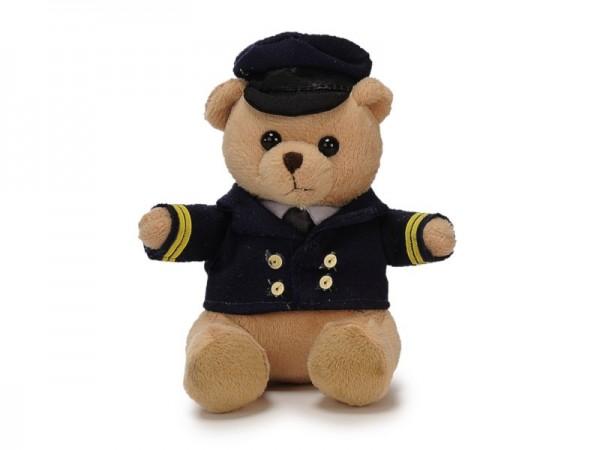 Pilotbär / Pilot Bear Pilot 14cm