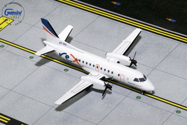 Saab 340B REX Regional Express Scale 1/200