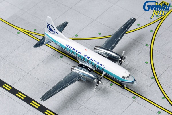 Convair CV-580 North Central Airlines N2041 Scale 1/400