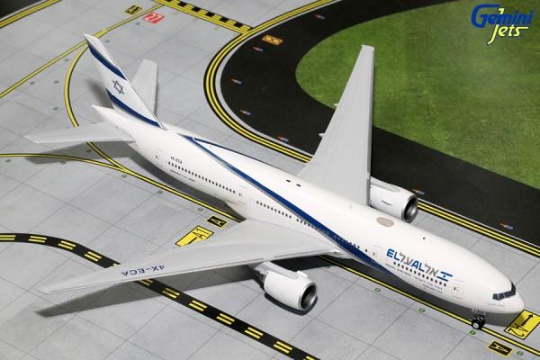 Boeing 777-200ER El Al Israel Airlines Scale 1/200