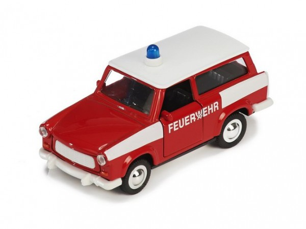"Pullback car ""Fire Department"" Scale 1:30 (12cm)"
