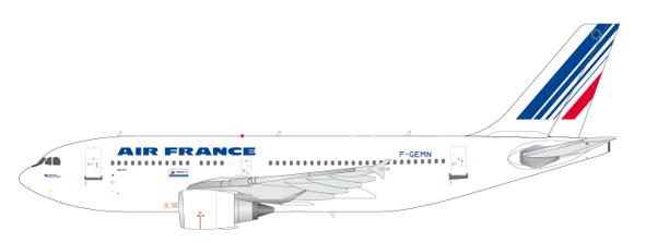 Airbus A310-300 Air France F-GEMN Scale 1/200