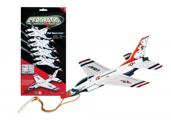 Thunderbird F-16 Glider w/Launcher