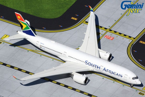 Airbus A350-900 South African Scale 1/400