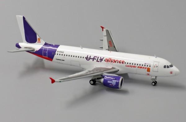 "AirbusA320LuckyAir""U-FlyAlliance"" B-6943 Scale 1/400"