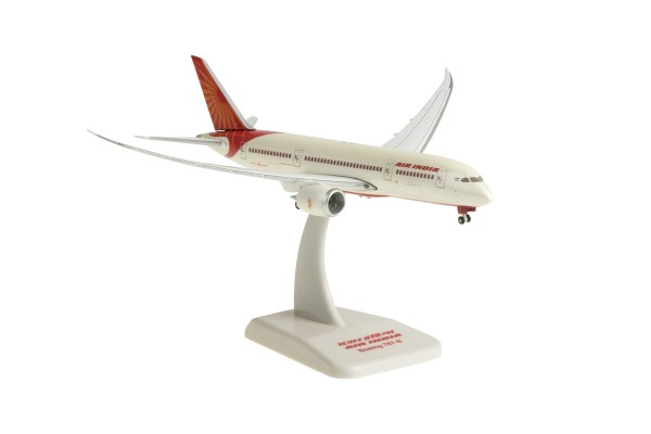 Boeing 787-8 Air India New Livery Inflight Wings Scale 1:400