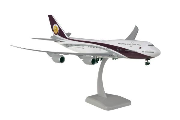 Boeing 747-8 Qatar Amiri Flight VQ-BSK Scale 1:200