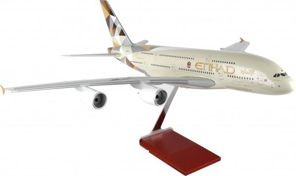 Airbus A380 Etihad Airways Scale 1/100 w/Gear