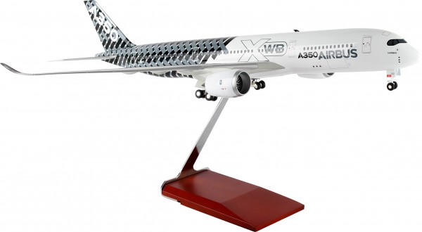 "Airbus A350 House Color ""Carbon"" Scale 1/100 w/Gear"
