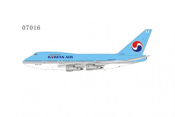 Boeing 747SP Korean Air n/C HL7456 Scale 1/400 #
