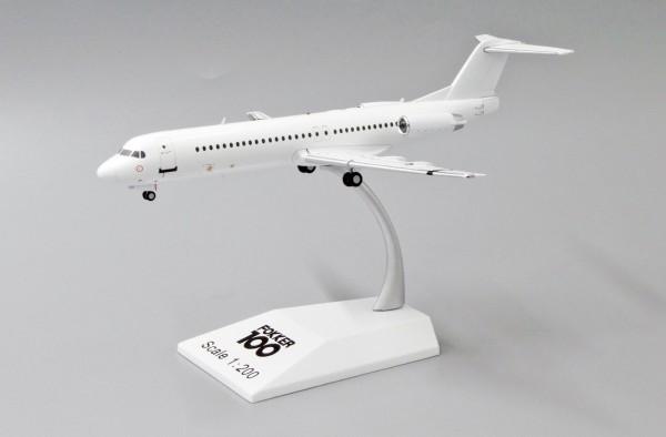 """Fokker F-100 """"Blank"""" Scale 1/200"""
