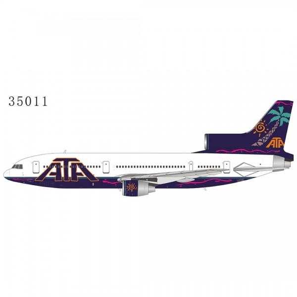 "Lockheed L-1011-500 TriStar American Trans Air (ATA) ""2000s color"" N161AT Scale 1/400"