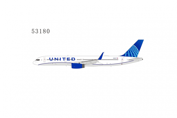 """Boeing 757-200 United Airlines """"eco-blue livery; with upgraded winglets"""" N48127 Scale 1/400 #"""