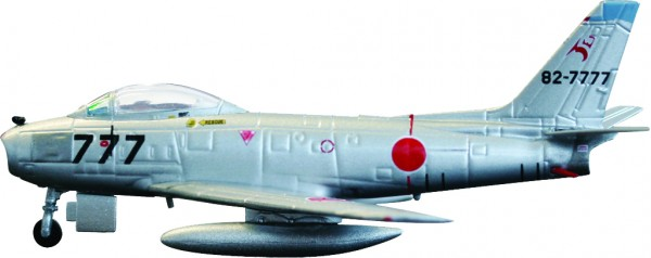 North American F-86F-40 Sabre JASDF, 8 Squadron, 82-7777 Scale 1/200 +++
