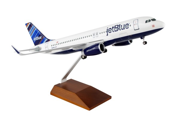 "Airbus A320 Jetblue Airways ""Barcode"" Scale 1/100 w/Gear"
