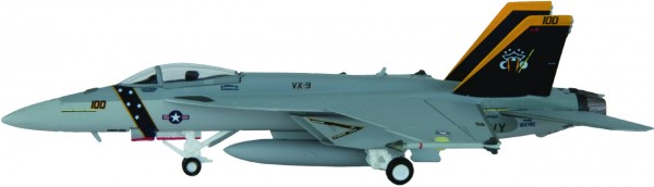 "McDonnell Douglas F/A-18E Hornet US Navy VX-9 ""Evaluators"", NAWS China Lake, XE 100 Scale 1/200"