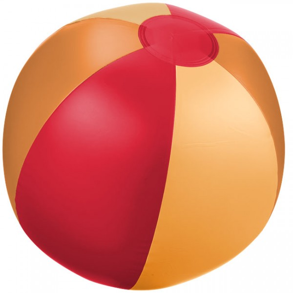 Wasserball aufblasbar orange/ Beachball inflatable orange