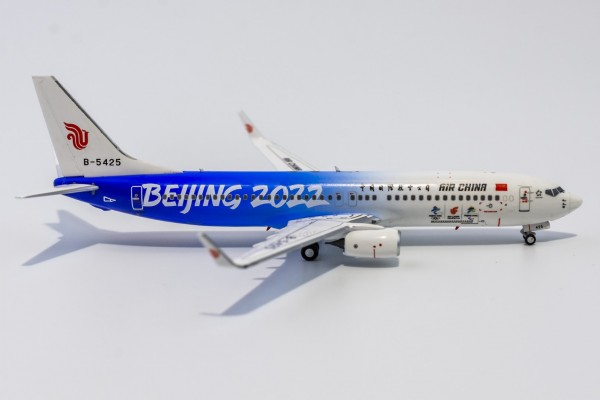 """Boeing 737-800 Air China """"2022 Beijing Olympic Winter Games"""" B-5425 Scale 1/400"""