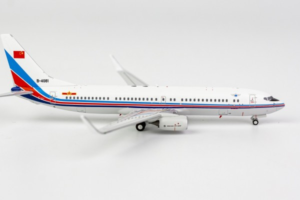 Boeing 737-800 PLA Air Force B-4081 Scale 1/400