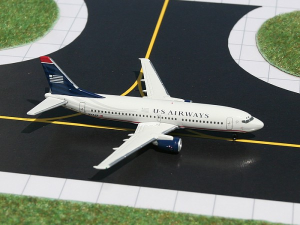 Boeing 737-300 US Airways N166AW Scale 1/400