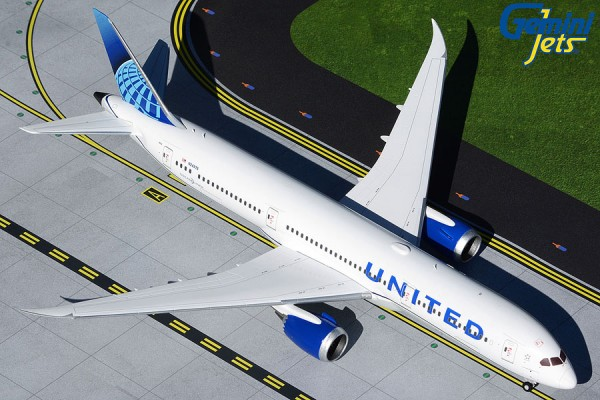 Boeing 787-9 United Airlines new livery N24976 Scale 1/200